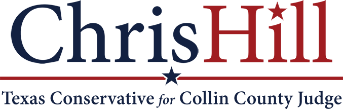 Chris Hill for Collin County Judge